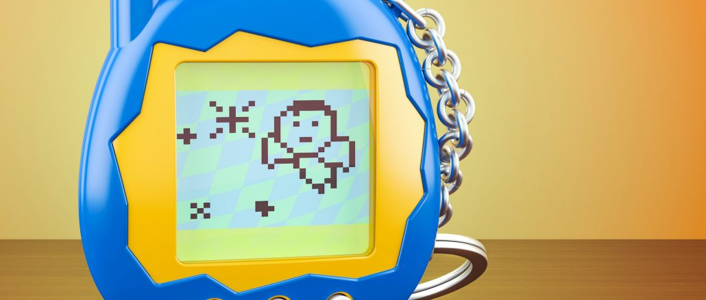 Tamagotchi economy and virtual pet collectors