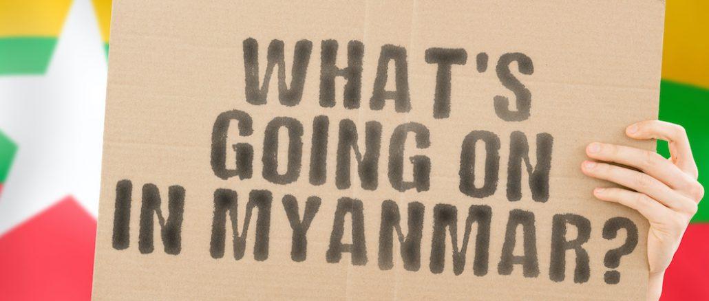 Bloody crackdown in Myanmar